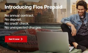 Verizon Introduce FiOS Prepaid Plan